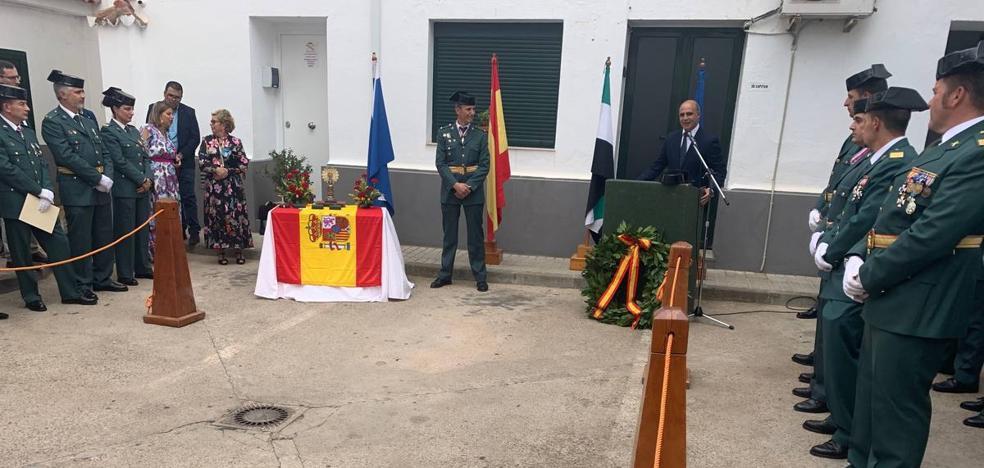 La Guardia Civil de Zafra celebró el Día de su Patrona con un acto sencillo y emotivo