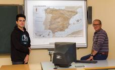 Manuel Barbosa Lagar, alumno del IES Suárez de Figueroa, tercer clasificado en la XII Olimpiada de Geografía