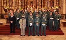 La Guardia Civil conmemoró el día de su Patrona con una misa en La Candelaria