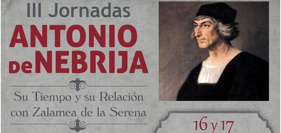 Zalamea presenta la III edición de las Jornadas 'Antonio de Nebrija'