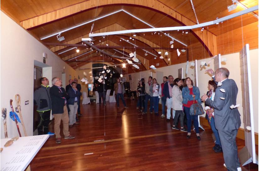 La exposición 'Camino de piedras' recaló en el Museo del Turrón