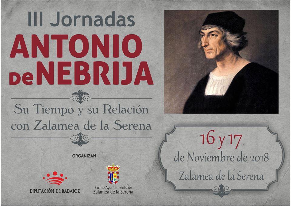 La localidad inaugura mañana la tercera edición de las 'Jornadas Antonio de Nebrija'