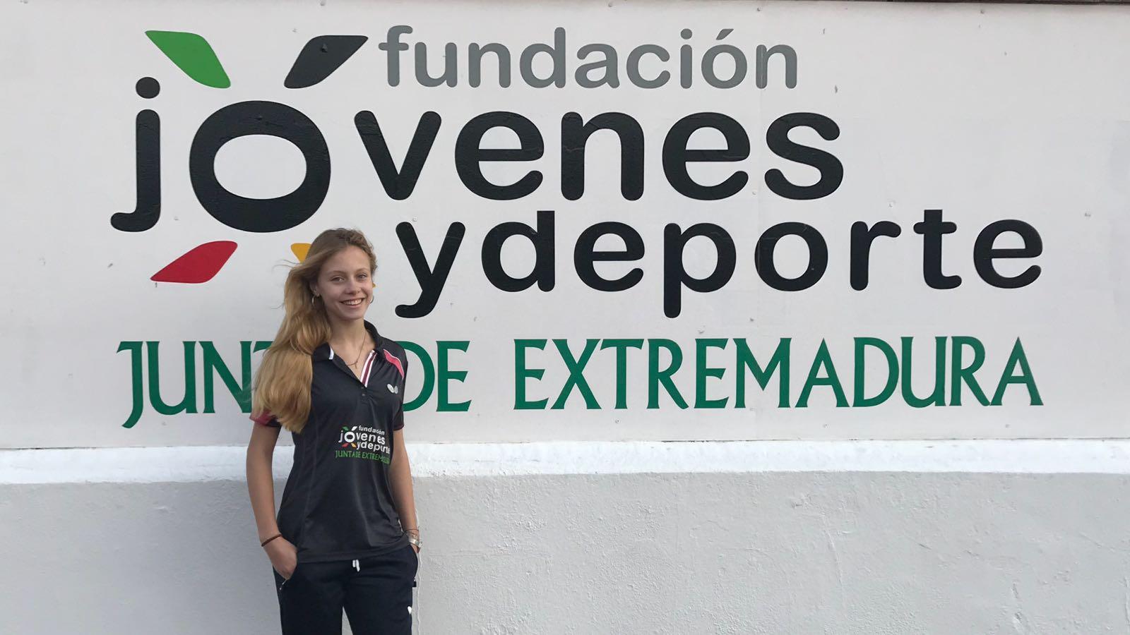 Laura García, subcampeona en el Torneo Zonal de Madrid y becada por la Junta de Extremadura