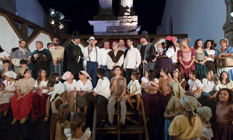 La representación de 'El alcalde de Zalamea' declarada Fiesta de Interés Turístico Nacional