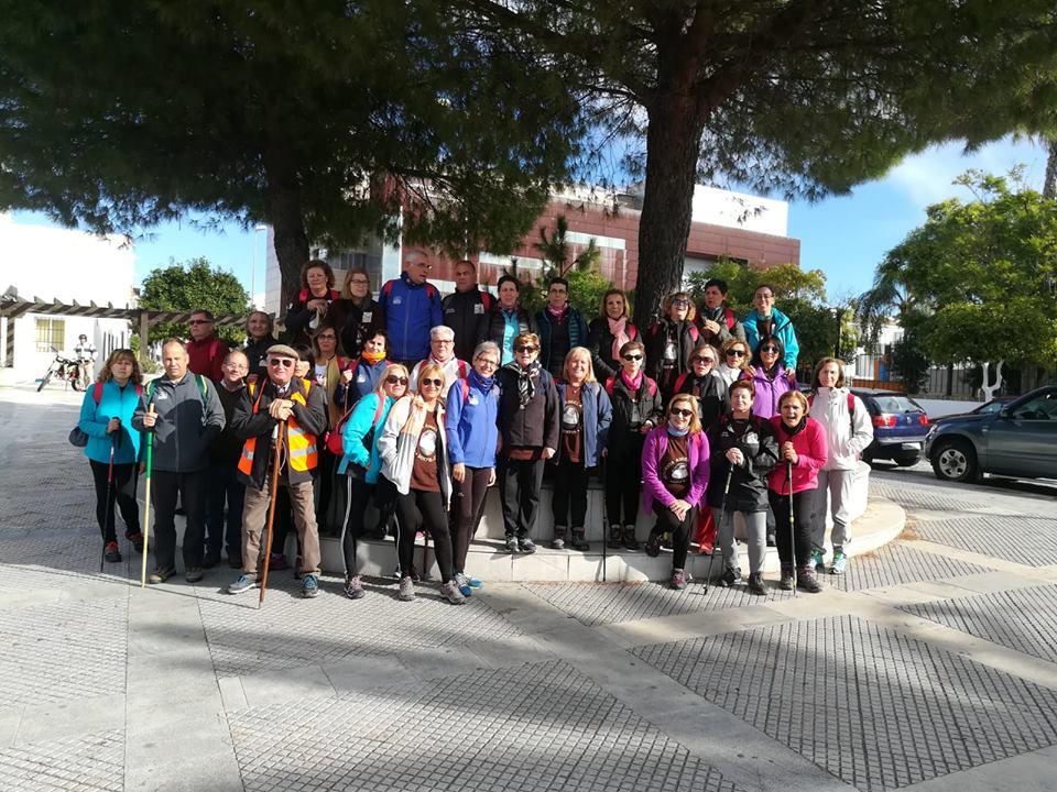 La Asociación Senderista Zalamea finaliza mañana la ruta de Santa Ángela de la Cruz