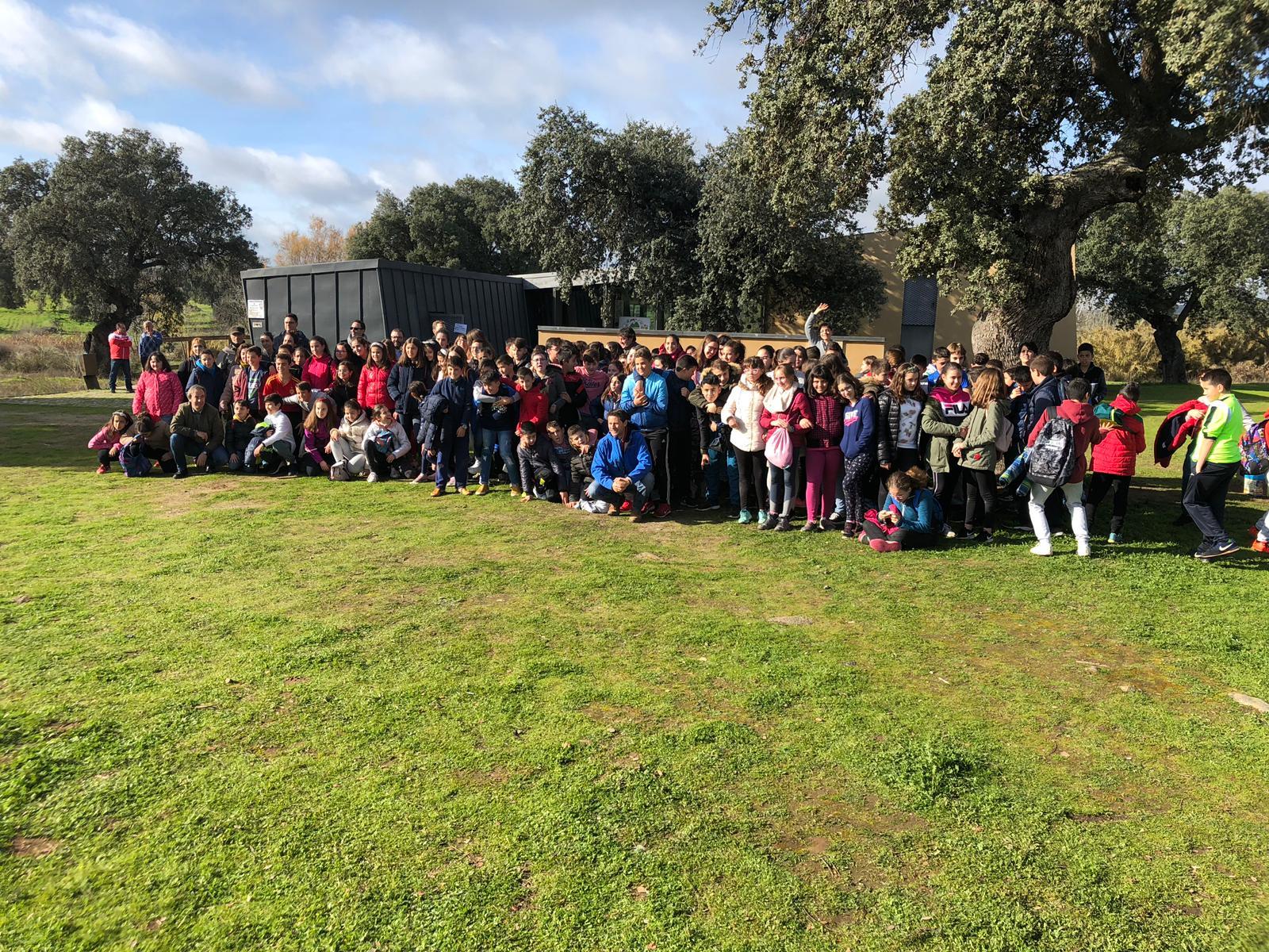 Cancho Roano acogió las Jornadas Europeas de Patrimonio con 240 escolares de la comarca