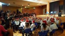 Trescientas personas disfrutaron del concierto navideño de la banda