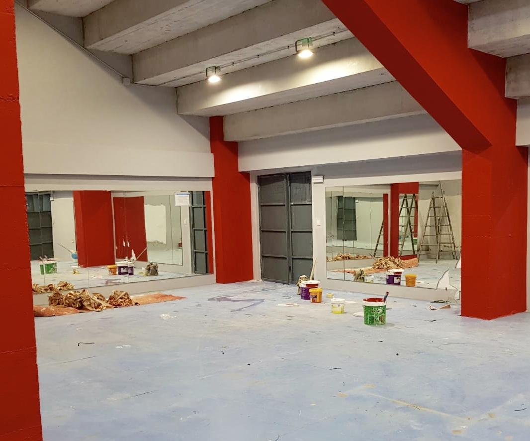 El gimnasio municipal lucirá totalmente renovado a partir de principios de febrero
