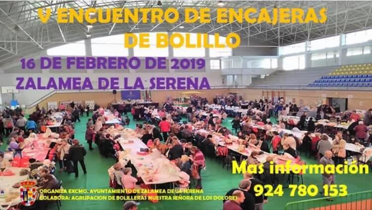 Zalamea acoge mañana el V Encuentro de Encajeras de Bolillo