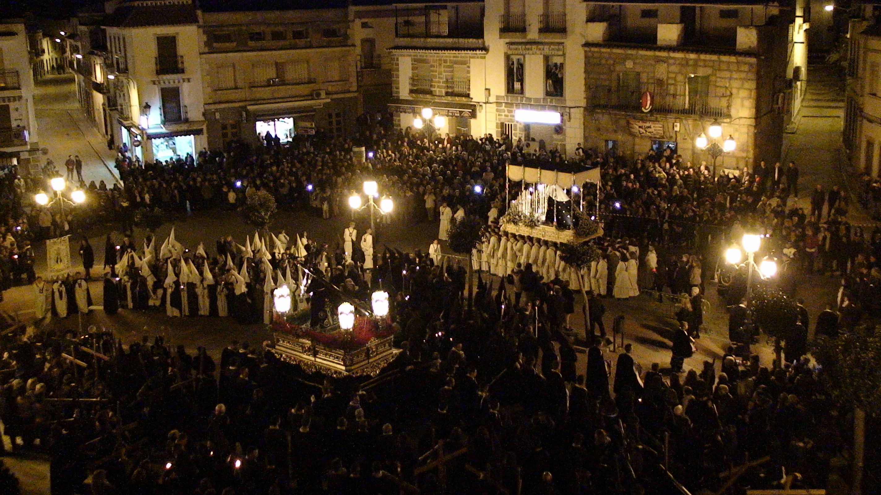 Dos cofradías, con mucha tradición, visten la Semana de Pasión en Zalamea