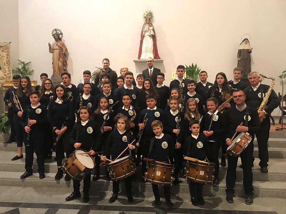 La banda municipal de música interpretó con éxito el II concierto sacro de la localidad