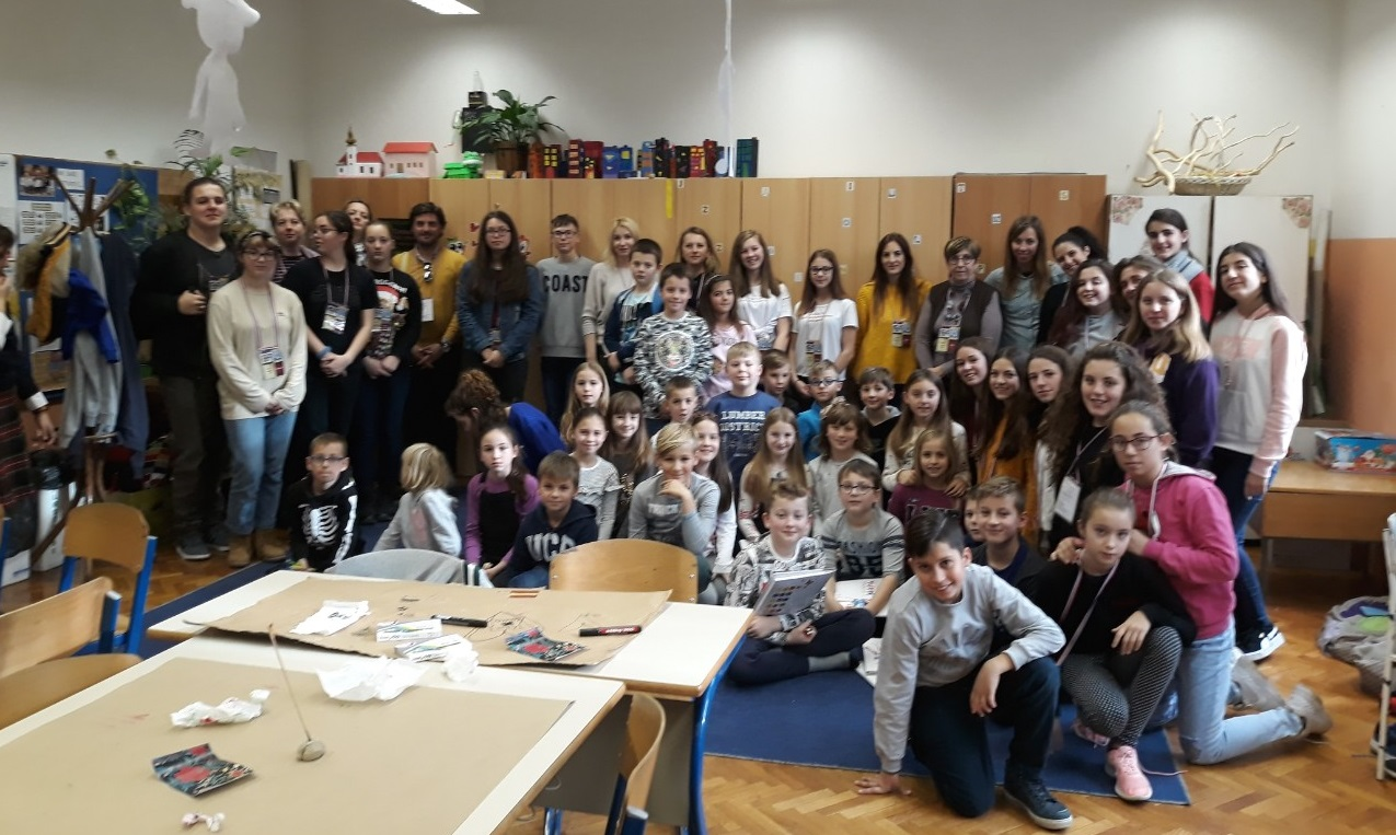 Un proyecto Erasmus+ trae a Zalamea a alumnos de cinco países de Europa