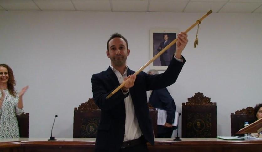 Miguel Ángel Fuentes tomó posesión como alcalde de Zalamea