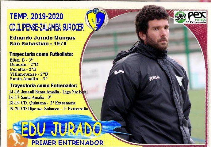 Edu Jurado, nuevo entrenador del CD Ilipense