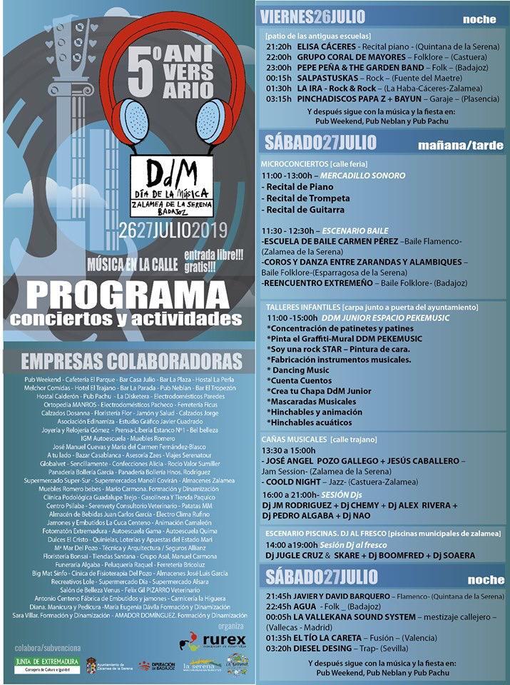 Rurex ultima los preparativos para la celebración de la V edición del Día de la Música de la Serena