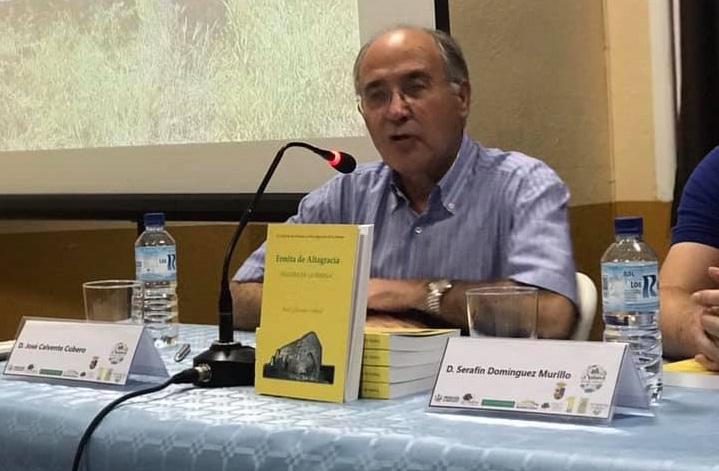 El ilipense José Calvente presenta su libro histórico 'La ermita de Altagracia'