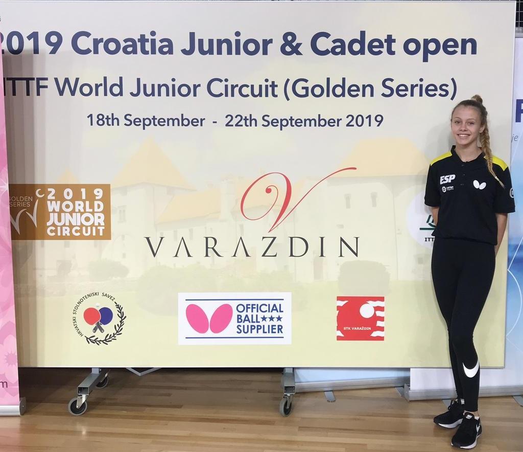 Laura García vuelve a cruzar fronteras para participar en el Open Internacional de Croacia