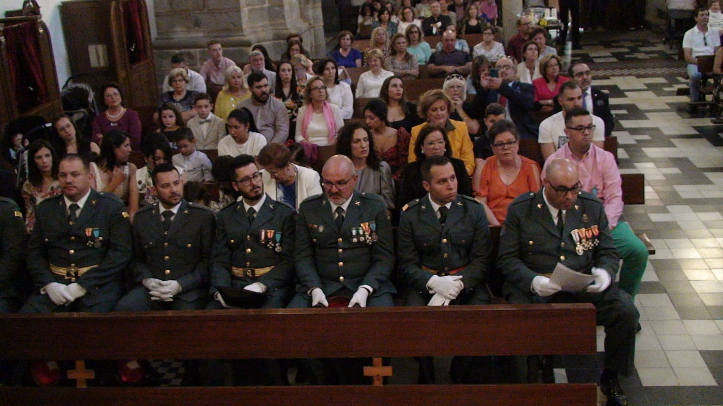 La Guardia Civil de Zalamea homenajea a un agente fallecido en acto de servicio en 1969