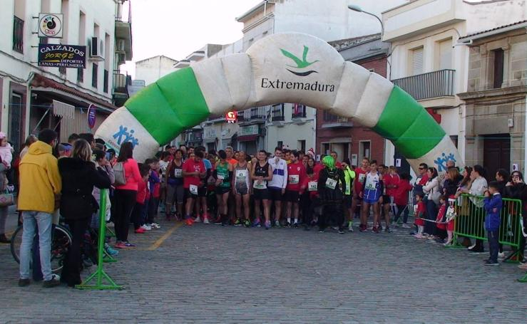 Zalamea celebra la novena edición de la carrera San Silvestre