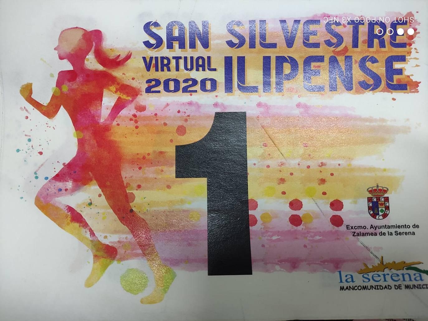 La 'San Silvestre Ilipense' no faltó a la cita, pero tuvo que ser de forma virtual