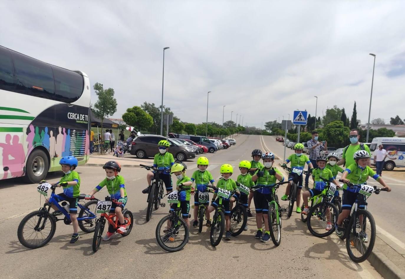 La Escuela Ciclista 'Diexle Zalamea' debuta en los Judex