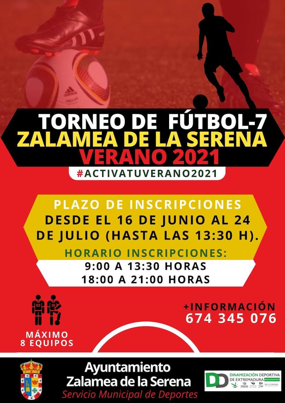 Abierto el plazo de inscripción para participar en el torneo local de Fútbol-7