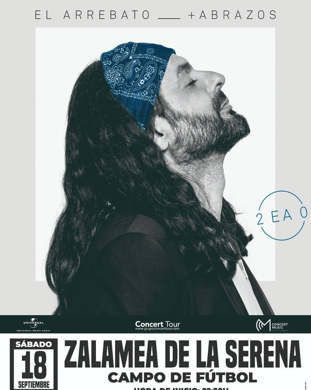 Las entradas para el concierto de El Arrebato únicamente se pueden adquirir de forma online