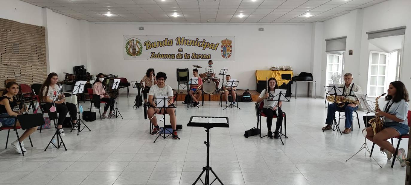 La Banda Municipal de Música ofrecerá un concierto el 19 de septiembre en Zalamea de la Serena