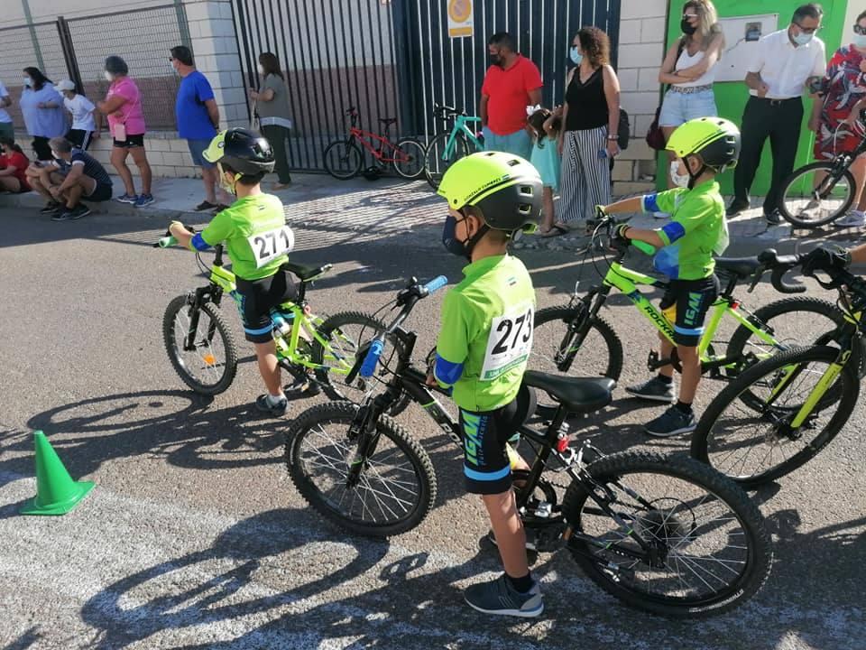 Los alumnos de la Escuela Ciclista Diexle-Zalamea finalizan la temporada de los JUDEX en Hornachos