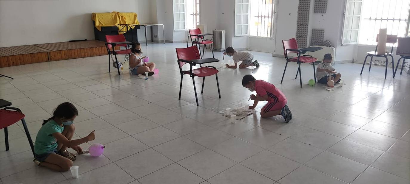 Gran demanda sobre las actividades infantiles del mes de agosto en el Centro Cultural