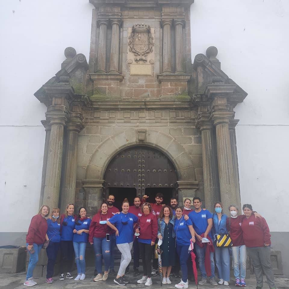 Los alumnos de la Escuela Profesional Dual 'Serena Horizonte' realizan una visita guiada por Zalamea de la Serena