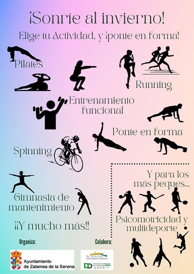 El Servicio Municipal de Deportes presenta el programa de actividades para los próximos meses