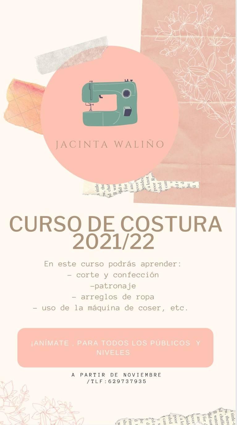 Jacinta Waliño impartirá un curso de costura en Zalamea de la Serena