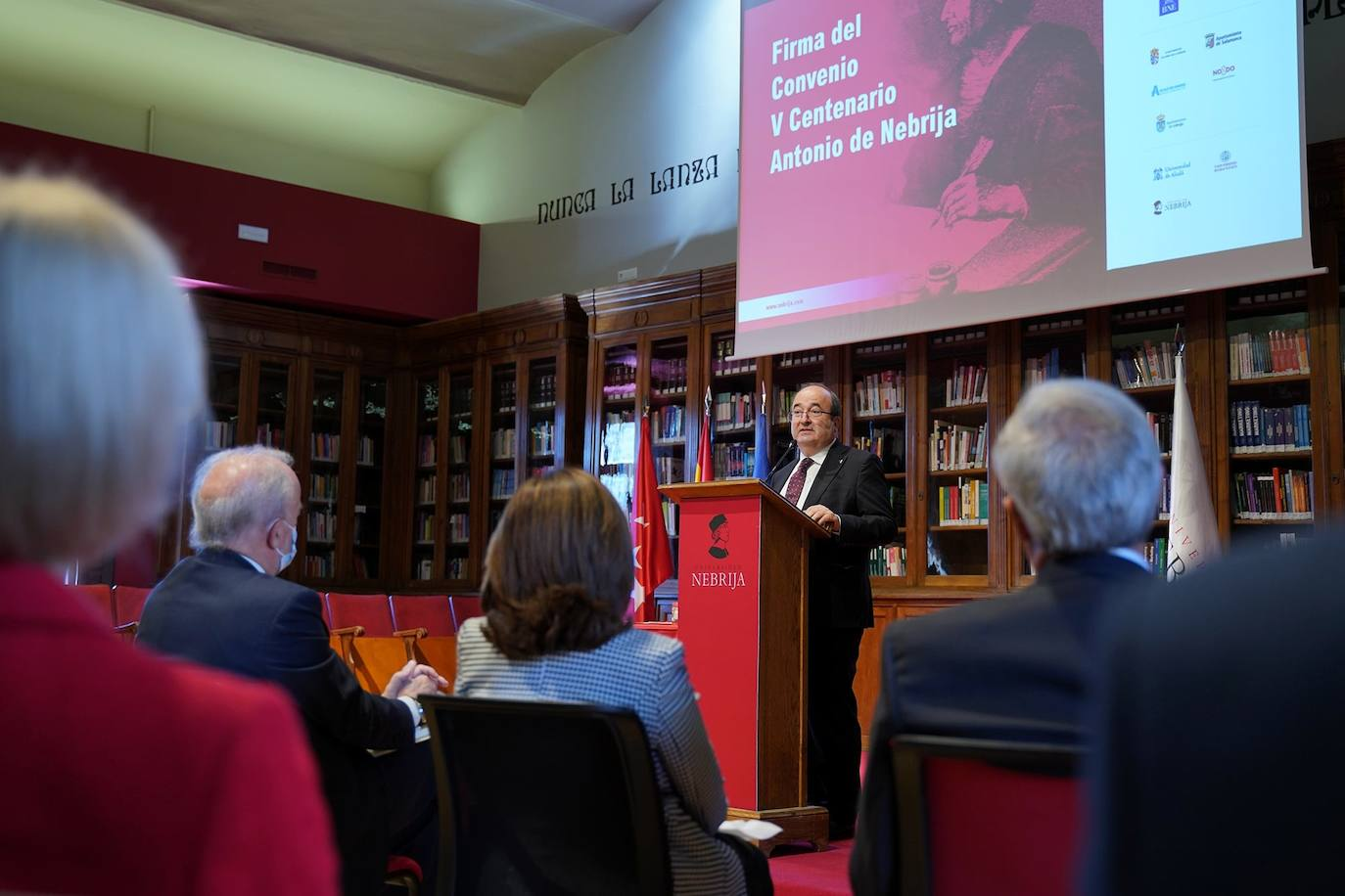 Quince instituciones culturales y políticas españolas, entre las que se encuentra el Ayuntamiento de Zalamea, se unen para celebrar el V Centenario de Antonio de Nebrija en 2022
