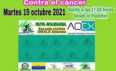 La Escuela Ciclista Diexle Zalamea organiza un entrenamiento solidario en beneficio de la AOEx