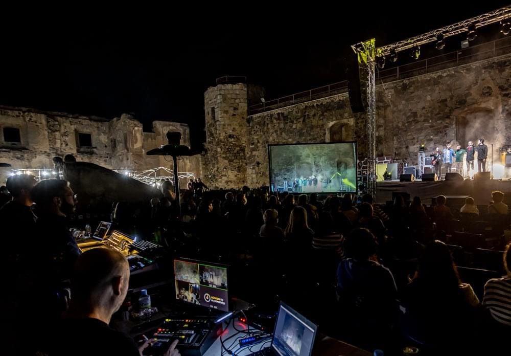 El festival 'Músicos en Movimiento' paró en el Castillo de Arribalavilla el pasado sábado